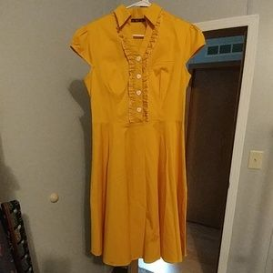 NWOT yellow dress *final*